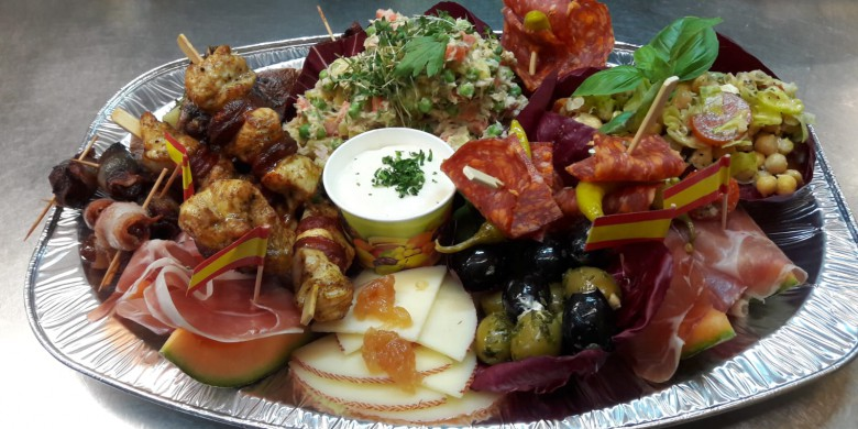 Unsere Tapas-Platte take away